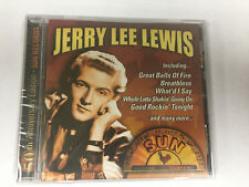 JERRY LEE LEWIS 50TH ANNIVERSARY EDITION SUN RECORDS CD BRAND NEW SEALED