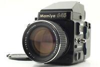 【NEAR MINT】 Mamiya M645 Super Body w/ Sekor C 80mm F/1.9 Lens from JAPAN #651