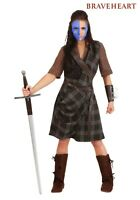Braveheart Women's Warrior Costume SIZE XL (missing belt and gauntlet)