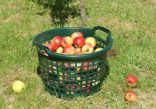 Kunststoffkorb Gartenkorb Gruen 25 Kg Kunststoff Korb Garten Handkorb Wäschekorb