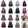 Women Oxford Cloth Travel Backpack Nylon Anti-theft Shoulder Satchel Waterproof