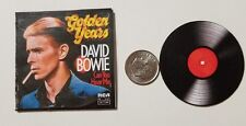 Miniature record Album Barbie Gi Joe 1/6   Playscale  David Bowie Golden Years