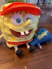 "Vintage Mattel SpongeBob Squarepants Talking Lifeguard 10"" Plush 2002 Works!"