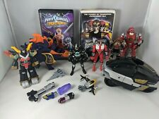 Mighty Morphin Power Rangers VTG 90?s Lot Includes Some Rare Figures and VHS
