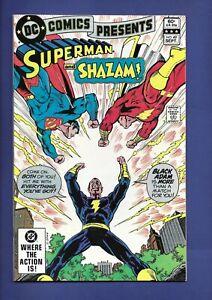 DC Comics Presents #49 2nd Modern App Black Adam Shazam/Superman Team Up VF/NM