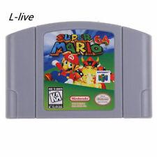 NEW Nintendo N64 Game Super Mario 64 Video Game Cartridge Console Card US VER