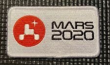 """NASA JPL - MARS 2020 PERSEVERANCE ROVER - MISSION PATCH - 3.5"""" x 2"""""""