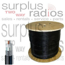 50 Feet Coax Cable Low Loss Double Shield RG8 RG213 LMR400 Motorola Repeater