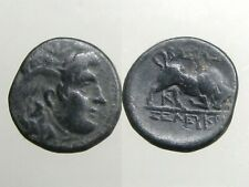 Seleukos I Ae15_Seleukid Empire_Officer Of Alexander_Medusa & Bull