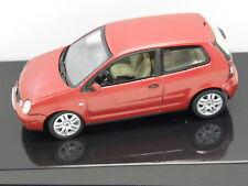 AUTOart 59767 Standmodell VW POLO 2001 (MURANOROT PERLEFFEKT) Maßstab 1:43