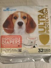 Female Dog Diapers Ultra Protection Disposable Puppy Diapers Female