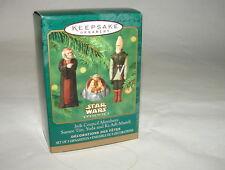 Star Wars Jedi Council members Yoda miniatures Hallmark Ornament 1999 MIB  1014
