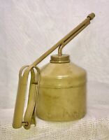 VTG Desert Tan Hand Oil Pump Oiler Spout Pistol Grip US PAT 1982519