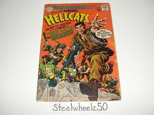Our Fighting Forces #112 Comic DC 1968 Lt Hunter's Hellcats Howard Liss Abel HTF