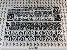 "DIAMONDBACK Stickers Decals Bicycles Bikes BMX MTB Cycles ""DIFFERENT COLORS"" 57B"
