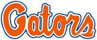 "Florida Gators NCAA Color Die Cut Vinyl Decal Sticker - You Choose Size 2""-62"""