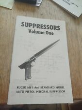 Integral Supressor Construction manual for Ruger .22 Automatic Pistol 1982