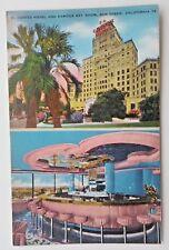 El Cortez Hotel Sky Room San Diego, CA postcard Calif.