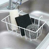 Dish Cleaning Drying Sponge Holder Kitchen Sink Organiser Stable Hanging U2F4