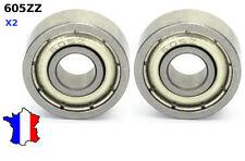 2 x ROULEMENT A BILLES 605 ZZ 5X14X5  , modelisme, 3d print, cnc bearing