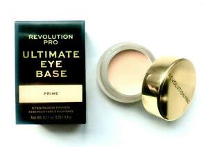 REVOLUTION Ultimate Eye Base Eye Primer Light - Long Lasting No Crease Eyeshadow