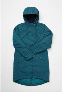 New Women's Seasalt Blue Plant Hunter 2 Waterproof Jacket Size UK 18 RRP £150
