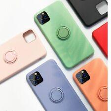 Magnetic Finger Ring Holder Phone Case For iPhone 11 Slim 360 Degree Rotation