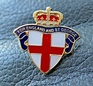 For England and St. George national pin badge Rule Britannia 2021 UK