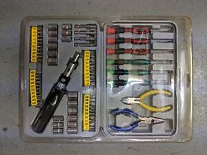 Hilka 76 Piece Screwdriver Tool & Bit Set