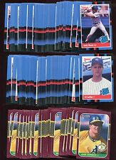 1987  DONRUSS OPENING DAY #24 JOSE CANSECO (LOT OF 34  MINT)  FREE COMBINED S&H