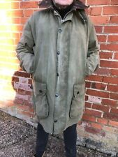 VINTAGE WAX BARBOUR BORDER ZIPPER JACKET SIZE 107cm  C42