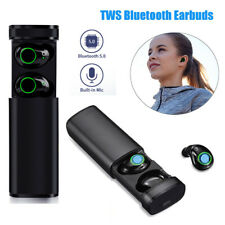 Bluetooth 5.0 Stereo Headset TWS Wireless Sport Earphones Twins Mini Headphones