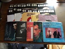 "RARE COLLECTION OF 24 ELVIS COSTELLO 7"" 45 SINGLES ALL COLUMBIA RELEASES UNIQUE"