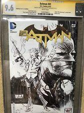 BATMAN #41 CGC SS 9.6 AMAZING ARIZONA COMIC CON SKETCH EDITION 2x Snyder Capullo