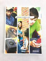 Nintendo Summer 2005 Promo Book Brochure Gamecube GBA DS Catalog