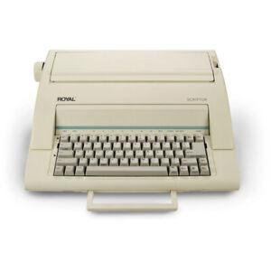 """Royal Scriptor 13"""" Portable Electronic Typewriter (69149V)"""