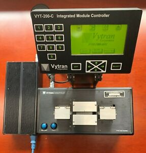 Vytran PTR-200 Series Fiber Recoaters w/Power Supply  and Module Controller