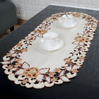 yazi Oval Tablecloth Table Cloth Doily Cover Embroidered Placemat Gift