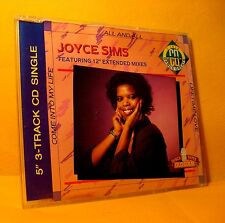 MAXI Single CD JOYCE SIMS Come Into My life - All and All - Lifetime love 3TR