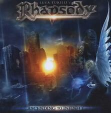 Luca turilli's rhapsody-Ascending to Infinity-CD & DVD NEUF