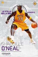 LIBRO BOOK N°2 SHAQUILLE O'NEAL LE STELLE DELLA NBA AI RAGGI X LAKERS