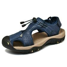 Mens Fashion Outdoor Casual Sandals Summer Beach Shoes Sewing Hiking Sneakers