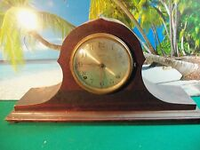 INGRAHAM MANTEL CLOCK CONTO DUPLEX FOR PARTS/REPAIR