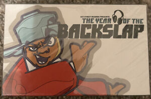 The Year Of The Backslap (Cassette, 1999, Gee Street) promo hip hop SEALED