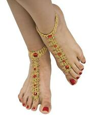 Bollywood Foot Decoration Jewel Fancy Dress Halloween Adult Costume Accessory