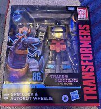 Transformers NEW * Grimlock and Wheelie * Studio Series 86-06 Leader Class
