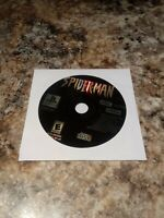 Spider-Man Sony Playstation One PS1 PSX Game Disc Only Free Ship