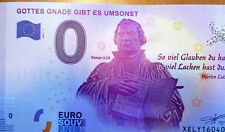 """0 EURO Schein """"Gottes Gnade gibt es umsonst"""", Römer 3,28 Martin Luther"""
