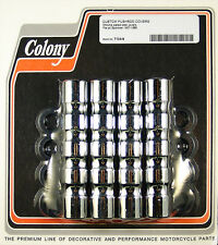 Harley 70-84 BT Motor Mount Kit Chrome Colony 8806-17