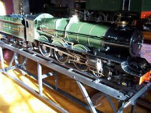 """LIVESTEAM GWR 5"""" """"KING""""-WONDERFUL EXAMPLE WITH BUILD PHOTOS AND SWINDON BOILER."""